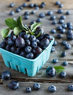 Fresh Blueberries & Plums
