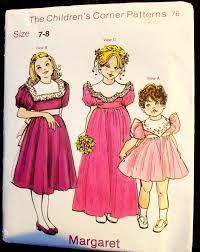 Image result for formal dress patterns for children free