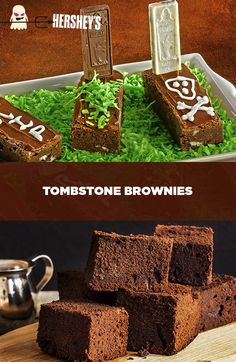... tombstone brownies try these spooky tombstone brownies made with