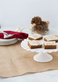 Keto Gingerbread Poke Cake in The Keto Holiday Cookbook Keto Holiday, Holiday Treats, Christmas Treats, Christmas Baking, Christmas Recipes, Pecan Praline Cake, Keto Recipes, Keto Desserts, Digestive Biscuits