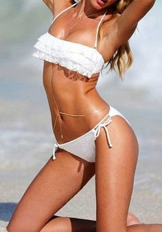 81a0b7281886 Love this body chain. Back NecklaceBody Chain JewelryCollege FashionSexy ...