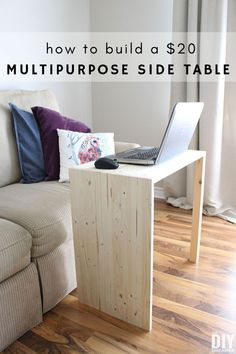 A mix & match style lounge - HomeDBS Diy Furniture Projects, Diy Craft Projects, Home Furniture, Diy Crafts, Handmade Furniture, Pallet Projects, Project Ideas, Side Table Decor, Diy Table
