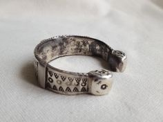 sehr alte massiv silber marokanische armreif.sammler stuck von etuareg auf Etsy