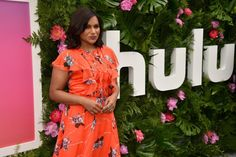 Mindy Kaling in Sachin  Babi at the 2017 Hulu Upfront in NYC