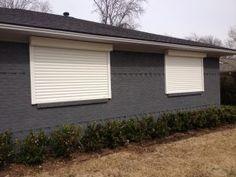 rolling steel shutters