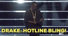 New trendy GIF/ Giphy. mtv drake vmas winner video music awards hotline bling vmas 2016 diddy puff daddy sean combs puffy. Let like/ repin/ follow @cutephonecases