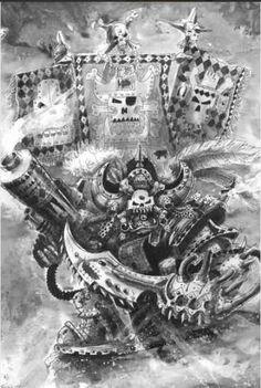The infamous Ork Freebooter Kaptin and former Bad Moon Badrukk
