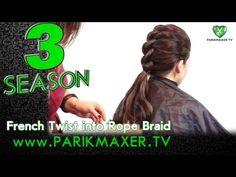 Harness with pickup on both sides. Darin Kocherzhenko. parikmaxer tv tv hairdresser