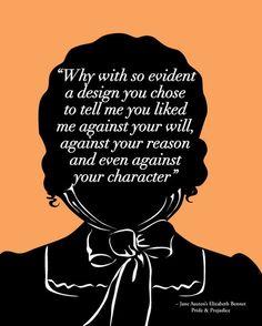 Quote by Elizabeth Bennett, Pride and prejudice, Jane Austen