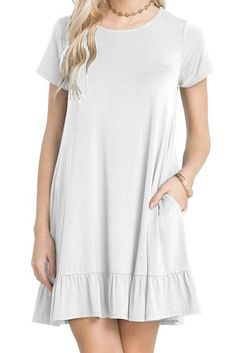 e0ef95bcb2bc 49 Best Dress Casual images | Casual dresses, Casual gowns, Casual ...