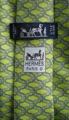 Hermes Silk Neck Tie