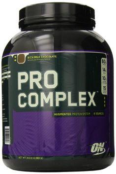 Optimum Nutrition Pro Complex, Rich Milk Chocolate, 4.6 Pound.