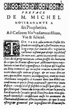 THE END OF THE WORLD ACCORDING TO NOSTRADAMUS