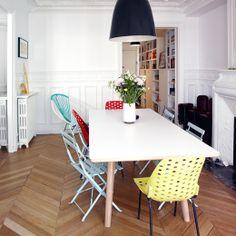 Ξύλινα Πατώματα Με Στυλ Ψαροκόκαλο / Fishbone Styled Floors