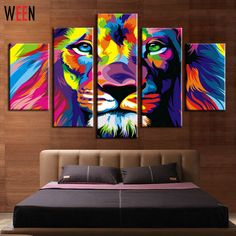 # Cheap Prices 5 Panels Colorful Lion King Animal Abstract Print Canvas Painting Wall Art Picture For Living Room Decoration Artwork With Frame [UXp4a8PS] Black Friday 5 Panels Colorful Lion King Animal Abstract Print Canvas Painting Wall Art Picture For Living Room Decoration Artwork With Frame [wr5xCdG] Cyber Monday [QmuRej]