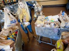 Carolyn Ford, a 2015 Stephen J. Brady Stop Hunger Scholarship recipient, recruited peers and donated 20,000 pounds of food to the American Red Cross Food Pantry