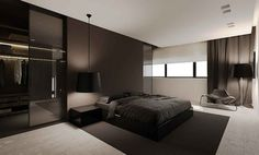 ImageFind images and videos about design, room and bedroom on We Heart It - the app to get lost in what you love. Home Bedroom, Modern Bedroom, Master Bedroom, Bedroom Decor, Design Bedroom, Master Suite, Graphisches Design, House Design, Logo Design