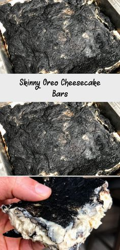Skinny Oreo Cheesecake Bars - Lauren Fit Foodie #churrocheesecakeEggRolls #churrocheesecakeCupcakes #churrocheesecakeDip #NoBakechurrocheesecake #churrocheesecakeBars Oreo Cheesecake Bars, Protein Cheesecake, Cookies And Cream Cheesecake, Churros, Cake Recipes, Fit, Nutrition, Meals, Skinny