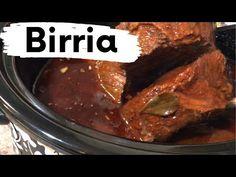 Birria // Crockpot Birria // Crockpot // Tacos // Consume - YouTube