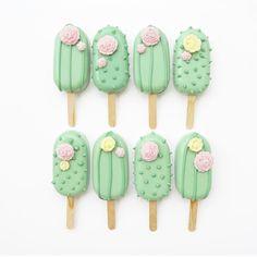 Paletas Chocolate, Oreos, Magnum Paleta, Cactus Cake, Llama Birthday, Yummy Ice Cream, Baking Business, Cute Desserts, Tea Art