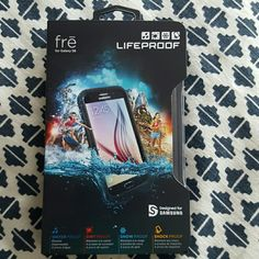 Lifeproof Phone Case - Galaxy S6 - NIB Waterproof - dirtproof - snowproof - shockproof - opened but never used LifeProof Other