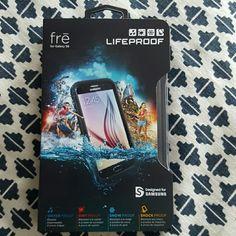 Lifeproof Phone Case - Galaxy S6 - NIB Waterproof - dirtproof - snowproof - shockproof - opened but never used LifeProof Other
