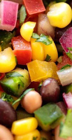 Mexican Black Bean Salad.