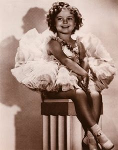 """""""I stopped believing in Santa Claus when I was six. Mother took me to see him in a department store and he asked for my autograph!"""" Shirley Temple."""