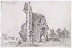 A ruin near Abingdon, Berks, John Constable, 1821