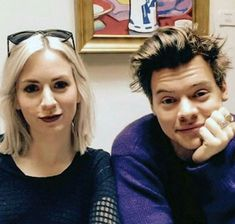 Harry Styles and his sister