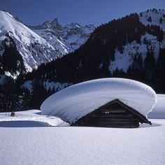 Oberstdorfer Schneehöhen