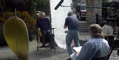 Cooper & Hemingway: #TheTrueGen director #JohnMulholland interviewing #CharltonHeston