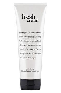 16 Philosophy Fresh Cream Ideas Philosophy Fresh Cream Fresh Cream Philosophy Products