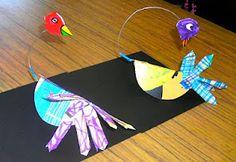 Calder inspired birds