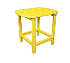 Polywood South Beach Adirondack Style Side - End Table | Durable Plastic Pool, Patio & Deck Furniture | American Made
