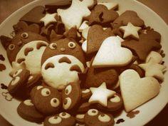 Totoro en sablés !!! :D