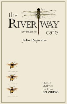 Business Card Design - The Riverway Cafe