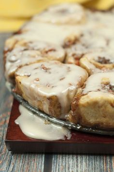 Carrot Cake Cinnamon Rolls with Mascarpone Icing from scratch recipe is perfect for Easter brunch or when you crave the spices and flavors of carrot cake!