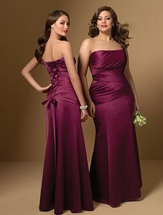 bridesmaid dresses for plus size if straps could be added