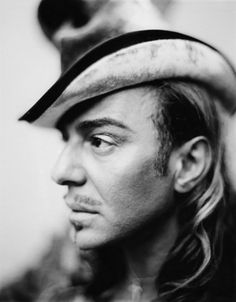 Paolo Roversi (John Galliano, a talented designer whose works are fantastical!)