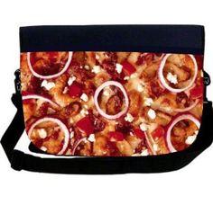 Rikki KnightTM Pizza Neoprene Laptop Sleeve Bag