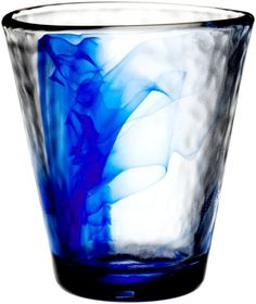 Bormioli Rocco Murano 14-7/8-Ounce Cobalt Blue Beverage Glass, Set of 4:Amazon:Kitchen & Dining