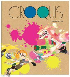 『スプラトゥーン』文具雑貨シリーズ第1弾が8月上旬発売、クロッキーブック・色鉛筆・蛍光ペンなど | インサイド