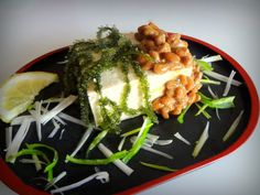 Shima salad : Tofu, natto, umi-budo...