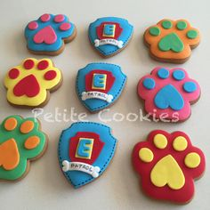 Paw Patrol party supplies - Lifes Little Celebration Birthday Party Themes, Boy Birthday, Paw Patrol Party Supplies, Paw Patrol Birthday, Custom Cookies, Cookie Decorating, Boy Or Girl, Theme Ideas, Melbourne