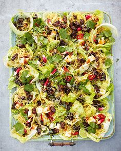 Jamie Oliver 15 minute Meals - Crispy duck, hoi sin lettuce parcels. Oh Jamie I love you!!!!!!