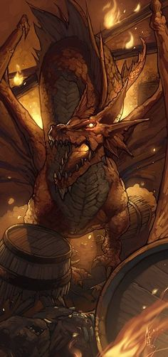 Red Dragon by ~nJoo on deviantART by Nessa~Art