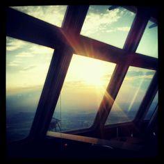 sunset (ještěd tower)