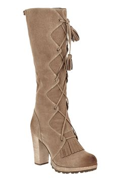 Burley Lace Up Boot