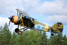 Aviation — An ex-Finnish Air Force Gloster Gauntlet Mk II,. Military Helicopter, Military Aircraft, Finland Air, Finnish Air Force, Colorized History, Ww2 Aircraft, Aviation Art, Luftwaffe, World War Two